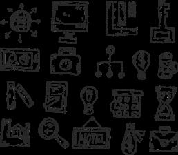 transparent image of digital media illustrations