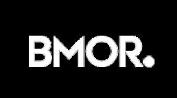 bmor logo white