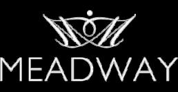 meadway logo white