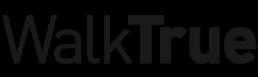 walktrue text logo black