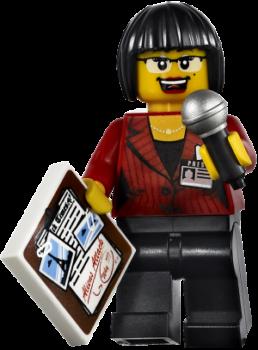 lego character news reporter