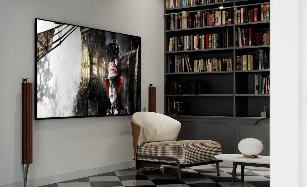 Project Hem Cinema Room CGI