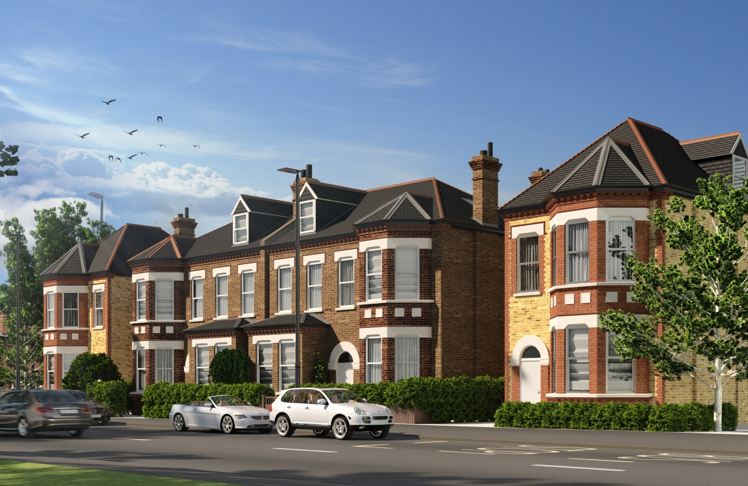 Croxted Road property exterior CGI