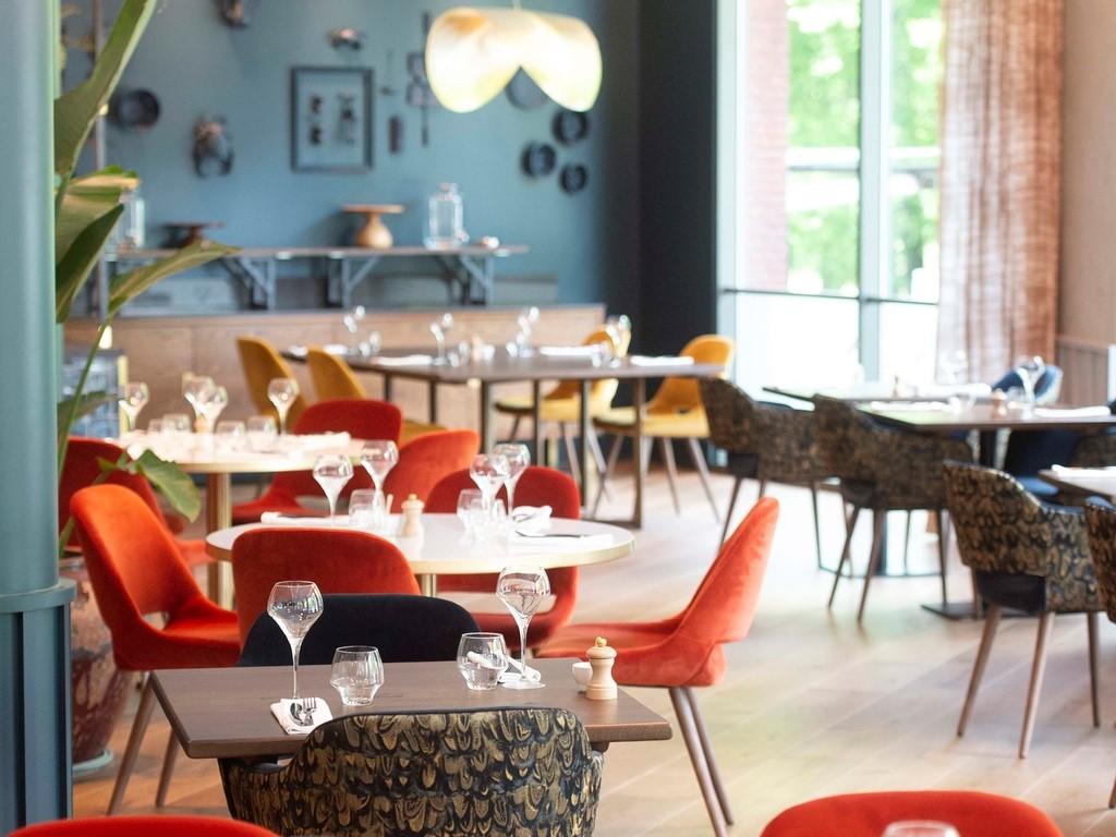 Sofitel Hotel Brussels Restaurant colour