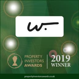 Property Investors Awards Winners Badge, Property VR Provider 2019