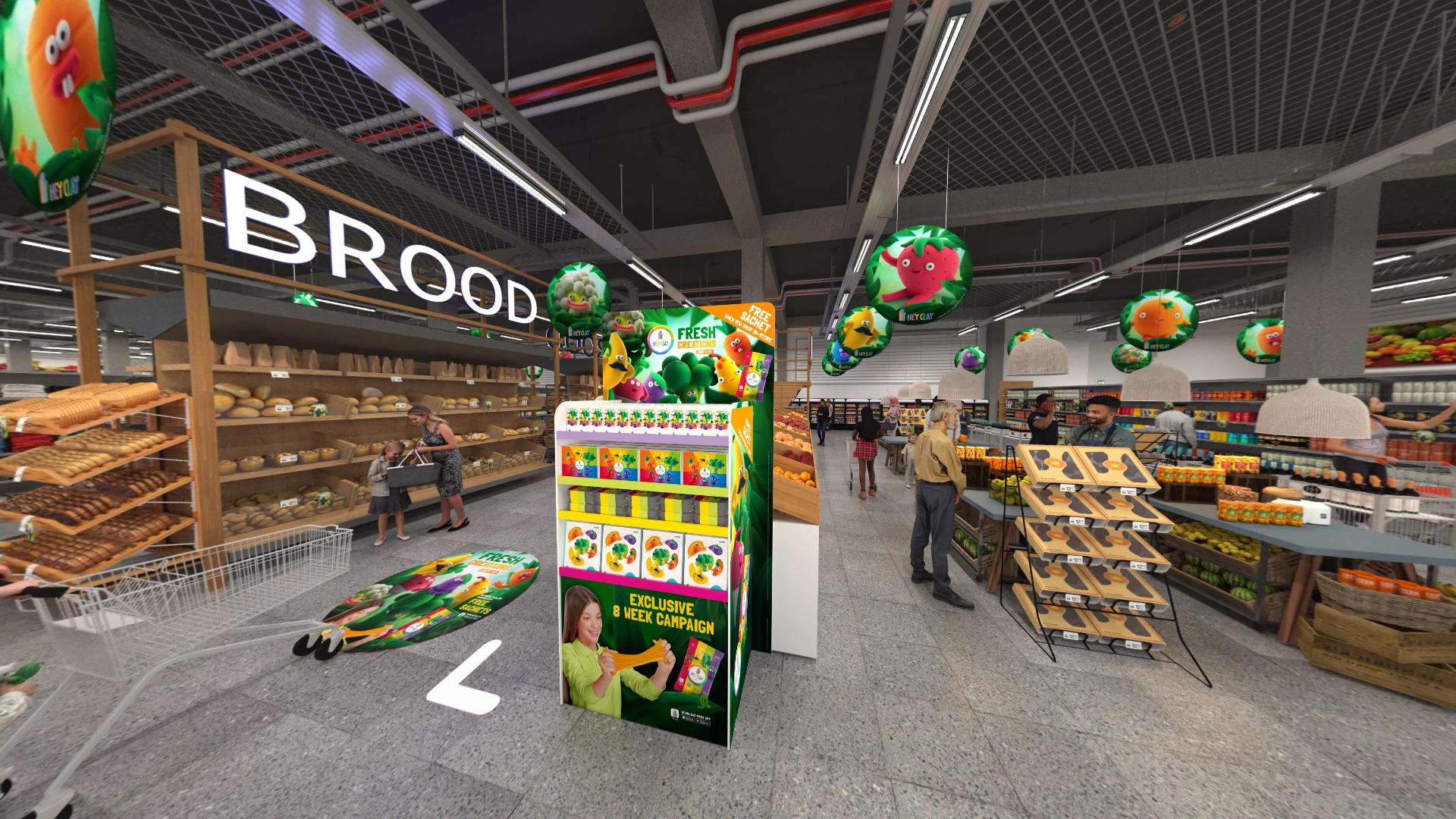 3D retail display